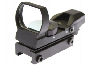 NCS Multi Reticule Dual Red/Green Illuminating Reflex Sight
