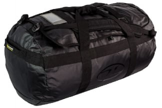 Highlander Lomond Tarpaulin 90L Duffle Bag (Black)