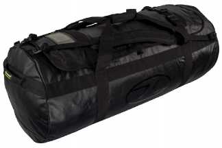 Highlander Lomond Tarpaulin 120L Duffle Bag (Black)