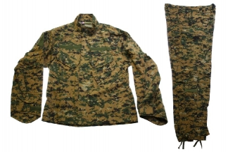 Mil-Force BDU Shirt & Trousers Set (Digital Woodland) - Size Extra Large