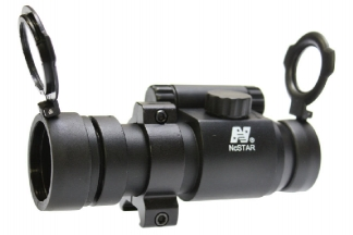 NCS 1x30 Lightweight Dot Sight with Flip-Up Covers