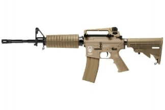 G&G Combat Machine AEG with Blowback GR16 Carbine DST (Tan)