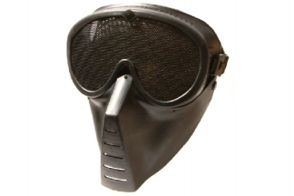 Aim Top Mesh Full Face Mask (Black)