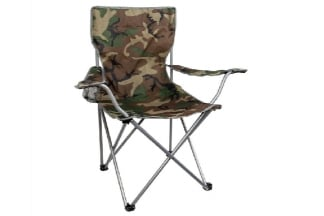 Highlander Moray Camping Chair (Camo)