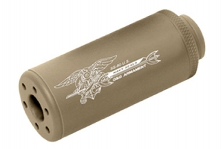 G&G SS-80 Suppressor 14mm CW (Tan)