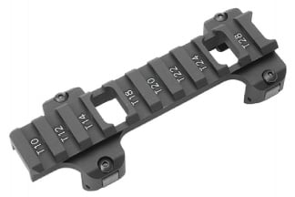 G&G Optic Mount Aluminium Low Profile Long Version for PM5 & G3