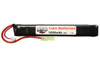G&P 7.4v 1200mAh 30C LiPo Battery