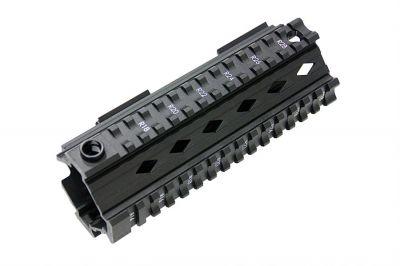 G&G M4 20mm RIS Handguard 100Y Style (Black)