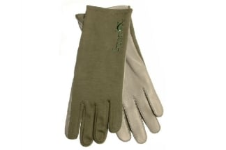 G-Tac Nomex Flight Gloves (Olive) - Size Extra Large