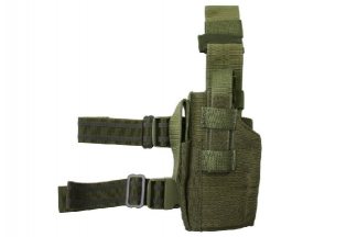 Guarder Left Handed Pistol Thigh Holster (Olive)