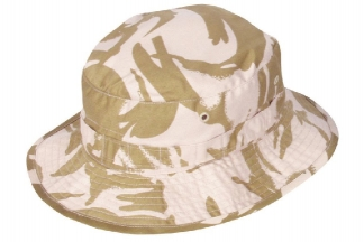 Mil-Com British Style Bush Hat (Desert DPM) - Size 58cm