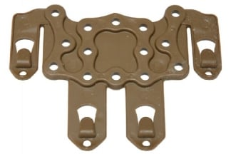 EB CQC SERPA Strike Platform MOLLE Attachment (Coyote Tan)