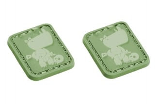 "EB Velcro ""Rhino"" Mini Patch - Pack of Two"