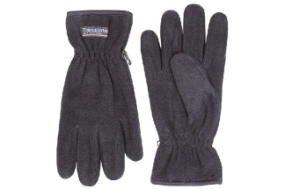 Jack Pyke Fleece Thinsulate Gloves (Black)