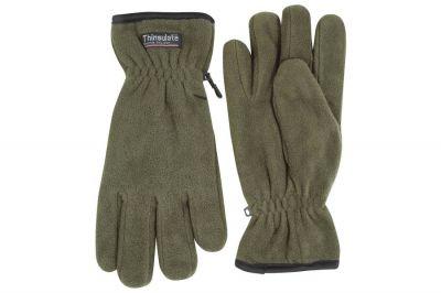 Jack Pyke Fleece Thinsulate Gloves (Olive)