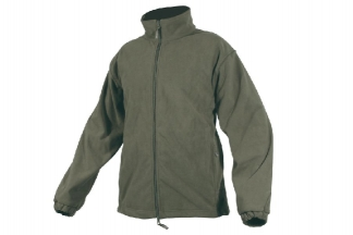 Jack Pyke Waterproof Fleece Jacket (Olive) - Size Large