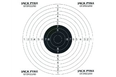 Jack Pyke Paper Targets Pack of 100