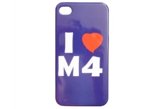 "EB iPhone 4 Case ""I Love M4"""