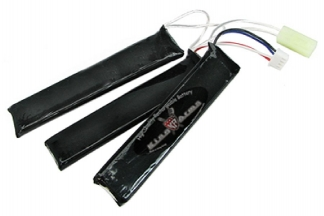 King Arms 11.1v 1100mAh 15C Triplet LiPo Battery