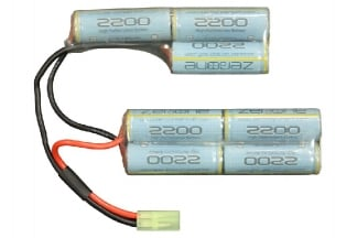 Zero One 8.4v 2200mAh NiMH Battery for M4A1