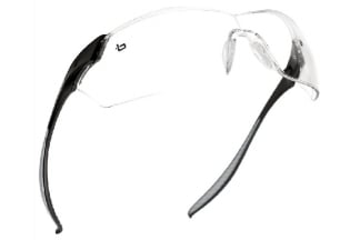 Bollé Protection Glasses Mamba with Black Frame and Clear Lens