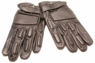 Mil-Force Full Finger SWAT Gloves (Black) - Size Large