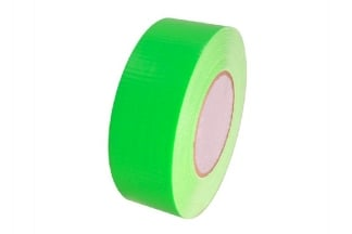 Zero One Fabric Tape Fluorescent 48mm x 22m (Green)