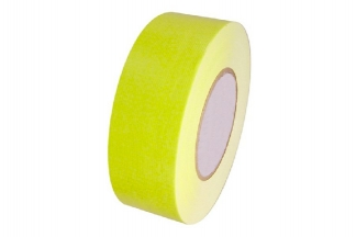Zero One Fabric Tape Fluorescent 48mm x 22m (Yellow)
