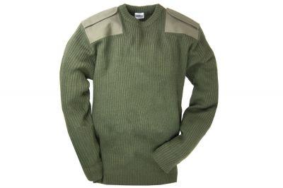 Highlander Kids Acrylic Pullover (Olive) - Size 13/14