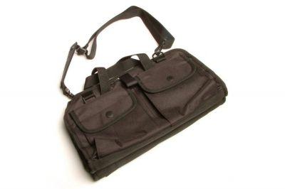 Mil-Force Double Deck Pistol Range Bag (Black)