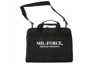 Mil-Force Deluxe Pistol Bag (Black)