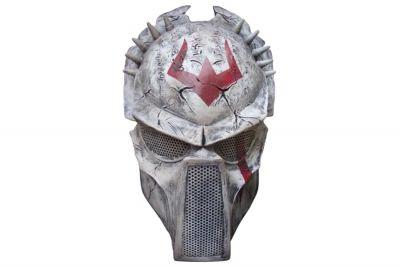 Rlux Custom Tribal Wolf Airsoft Mask