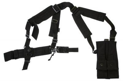 Mil-Force PM5K, M11 & UZI Shoulder Holster Vest (Black)