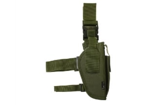 Mil-Force Tactical Drop Leg Thigh Holster, Right Handed (Olive)