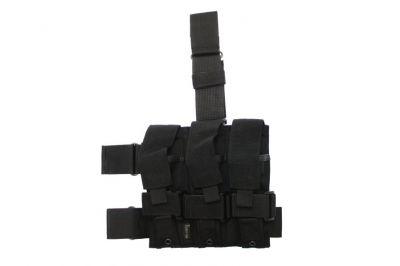 Mil-Force Drop Leg Multi Magazine Pouch for 3x PM5 (Black)