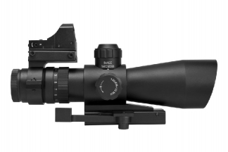 NCS Ultimate Sighting System 3-9x42 with Mil-Dot Reticule
