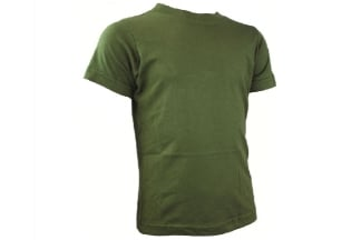 "Highlander Kids T-Shirt (Olive) - Size 11/12 (34"")"