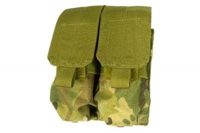 TMC MOLLE Double Mag Pouch (MultiCam)