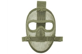 TMC Razor Mesh Full Face Mask (Olive)