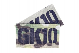 TMC Seal Team Callsign Velcro Patch Set (MultiCam) GK10