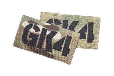 TMC Seal Team Callsign Velcro Patch Set (MultiCam) GK4