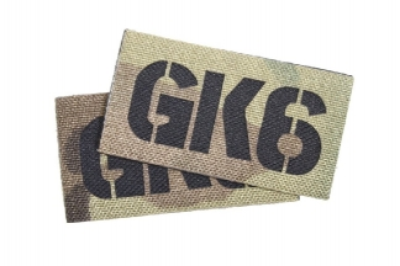 TMC Seal Team Callsign Velcro Patch Set (MultiCam) GK6