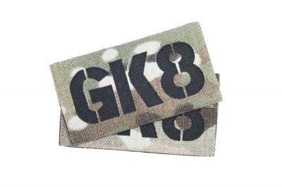 TMC Seal Team Callsign Velcro Patch Set (MultiCam) GK8