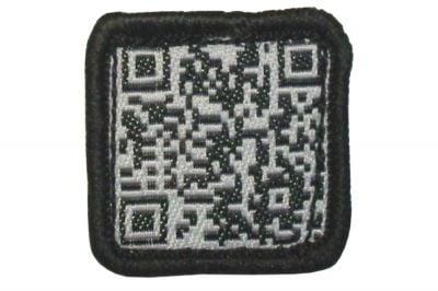 """TMC Velcro Patch """"QR Code"""" (Black)"""