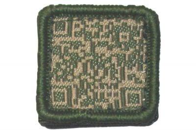 """TMC Velcro Patch """"QR Code"""" (Olive)"""