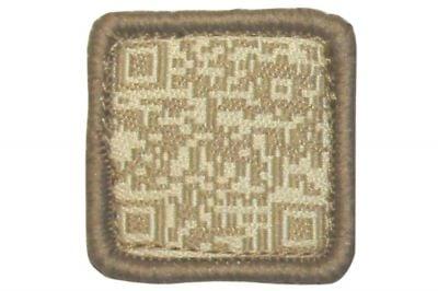"""TMC Velcro Patch """"QR Code"""" (Khaki)"""