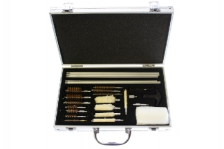 NCS Universal Gun Cleaning Kit in Aluminium Carry Case