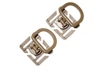 Viper Tactical D-Ring Set of 2 (Coyote Tan)