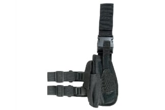 Viper Pistol Drop Leg Holster Left Hand (Black)