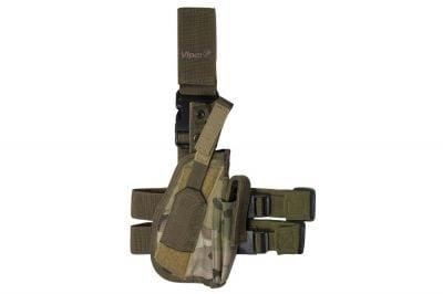 Viper Pistol Drop Leg Holster (MultiCam)